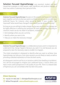 Willow Therapies Brochure 2